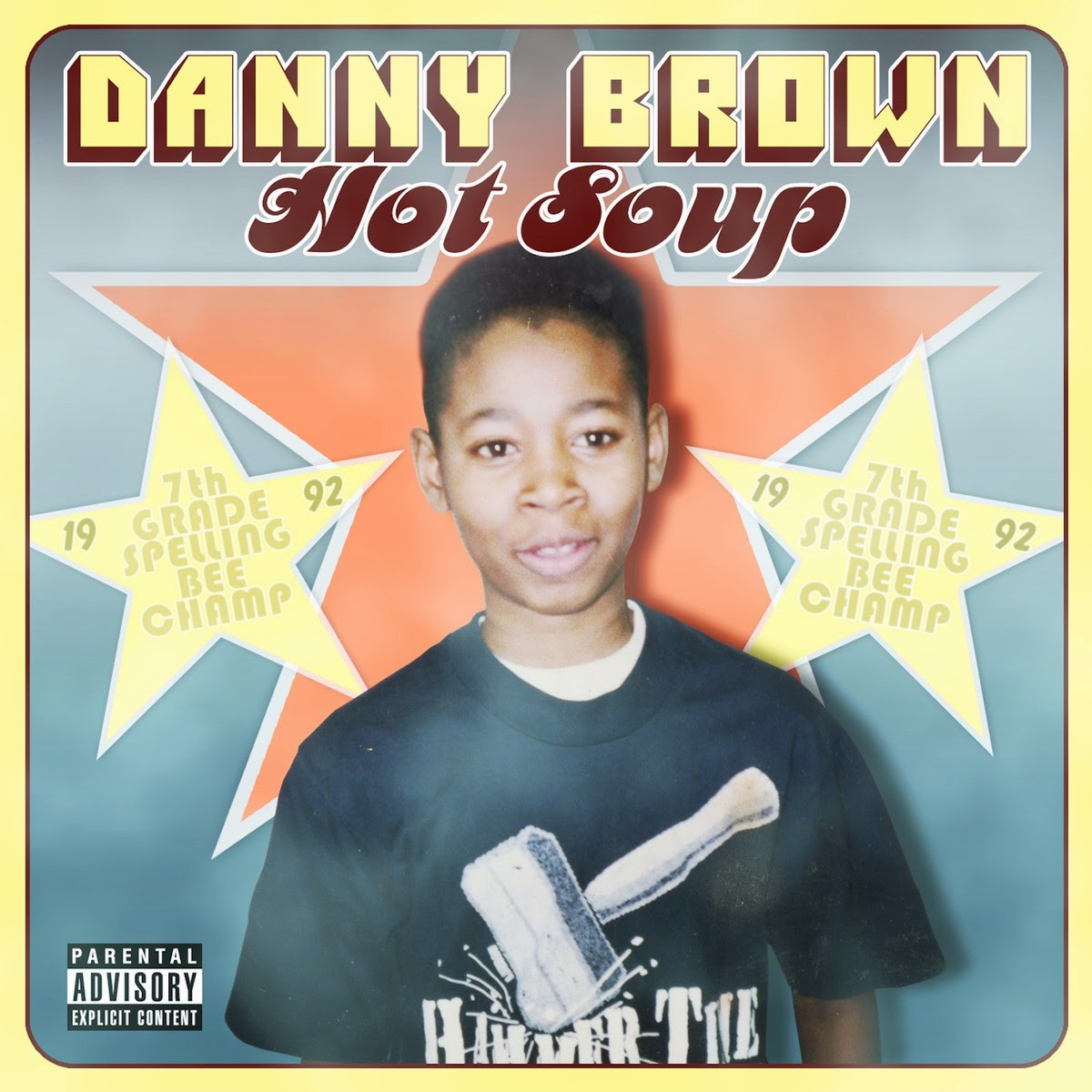 Danny Brown - Hot Soup Cover