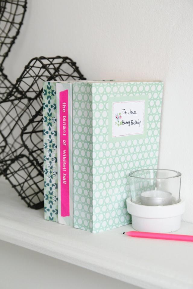 Craft Paper Book Cover ~ Scrapbook covers diy book cover ideas craft paper