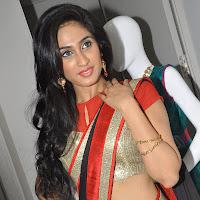 Deepti sati hot pics at kalaniketan bride & groom collection launch