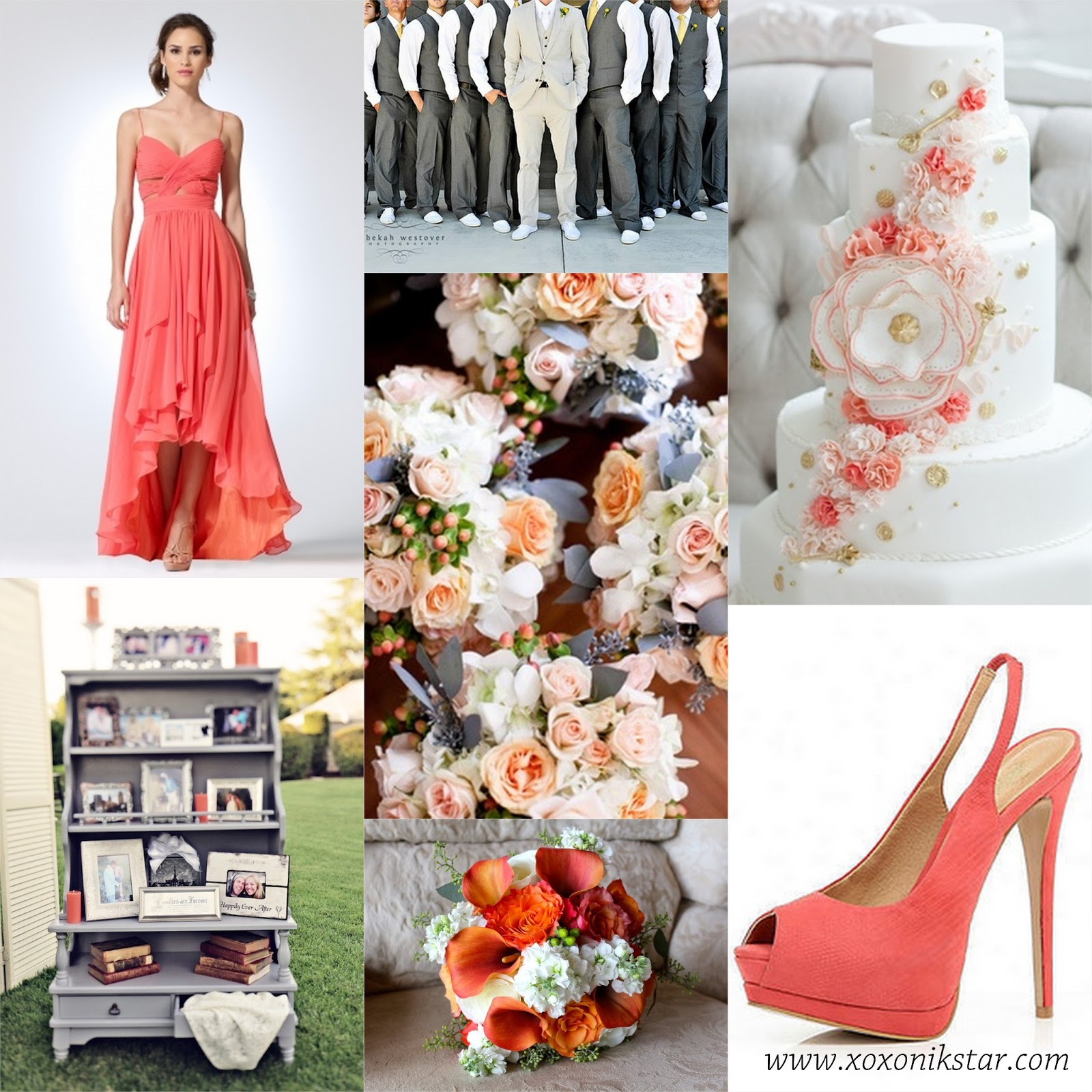 Coral Wedding: 1000+ Images About Coral Navy And Gray