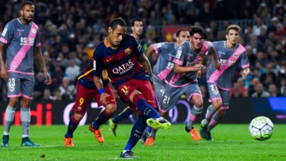 Hasil Barcelona 5-2 Rayo Vallecano, Dua Kali Penalty!