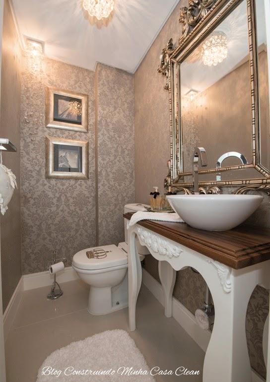 objetos decoracao lavabo:46- Esse lavabo tem um verdadeiro trono! rsrs Detalhe da tampa do