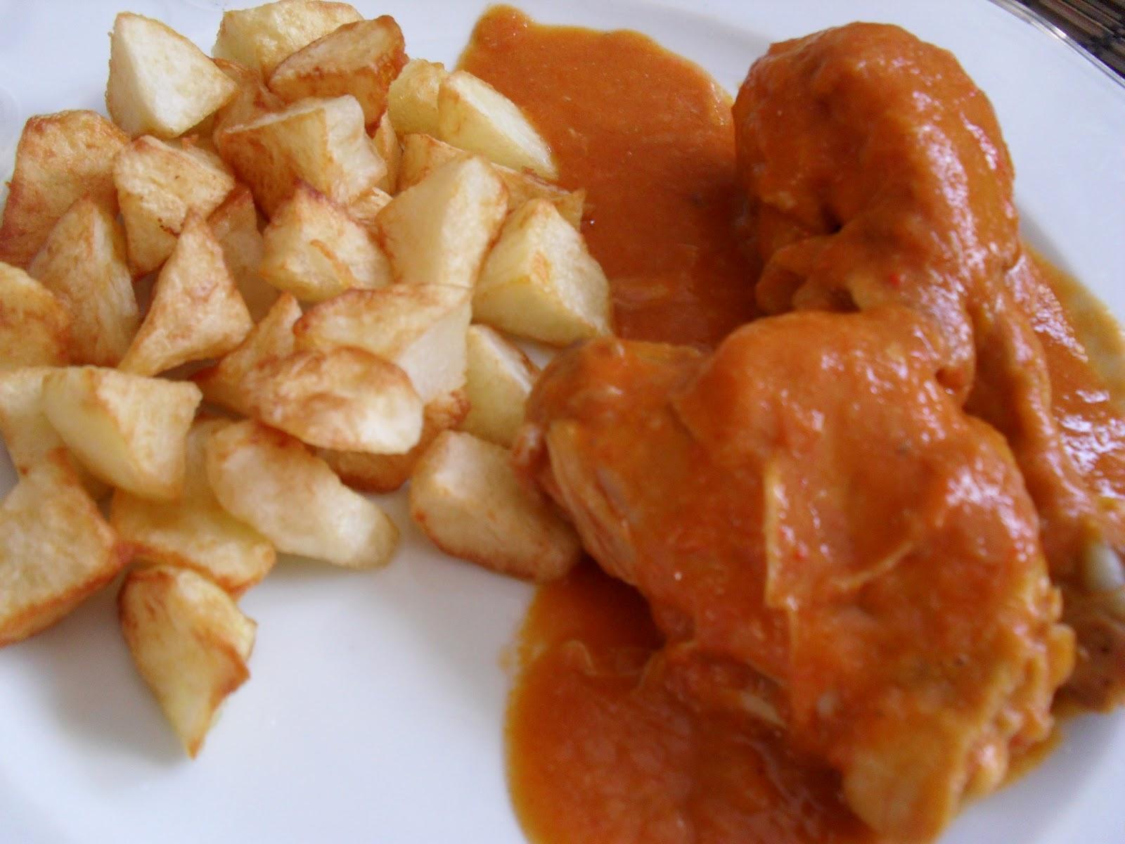 Monica delicatesen y arte muslos de pollo en salsa de for Muslos pollo en salsa