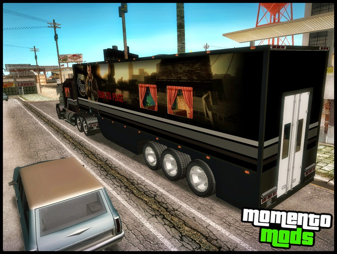 GTA SA - Kenworth W900L & Trailer