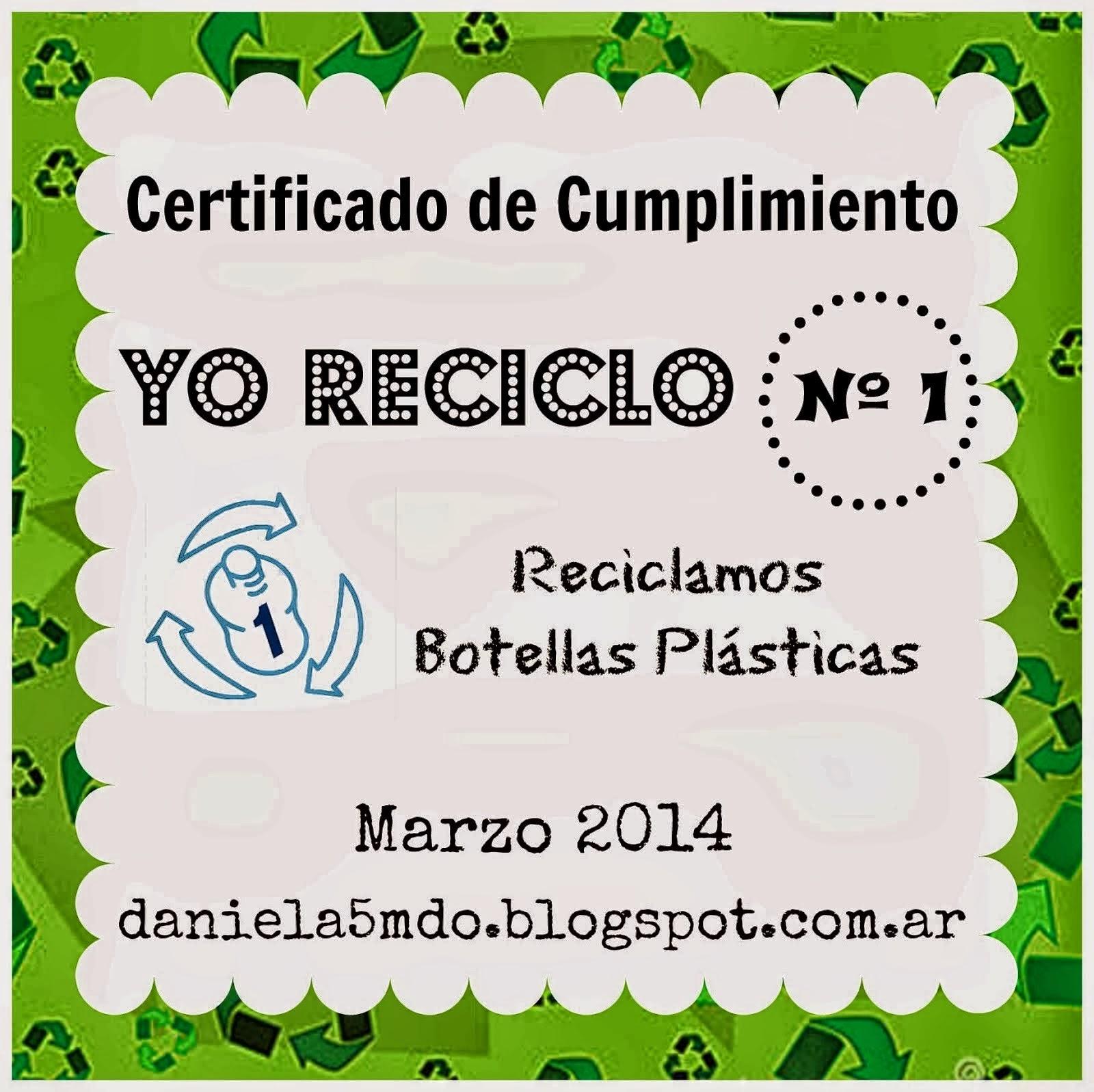 1°Reto Reciclar