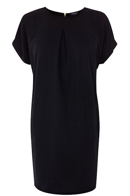 black cocoon dress