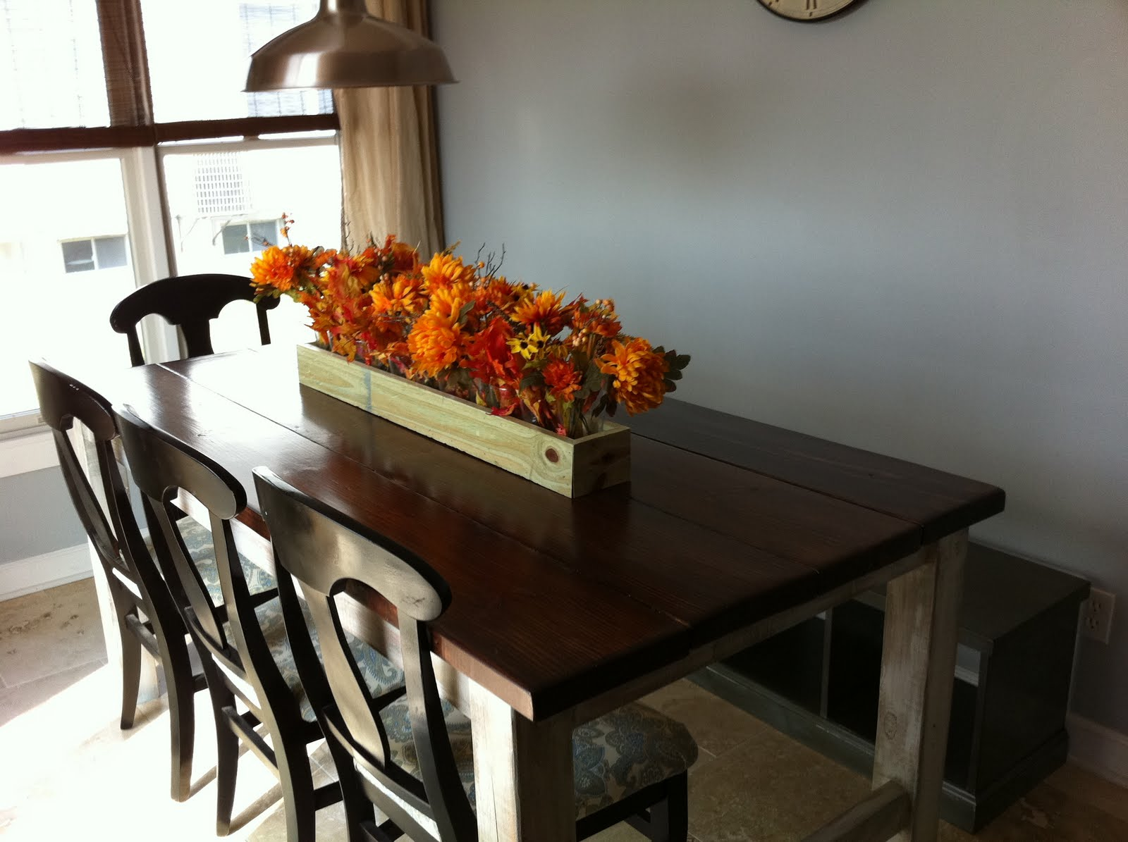 the quaint cottage diy rustic farmhouse table finish