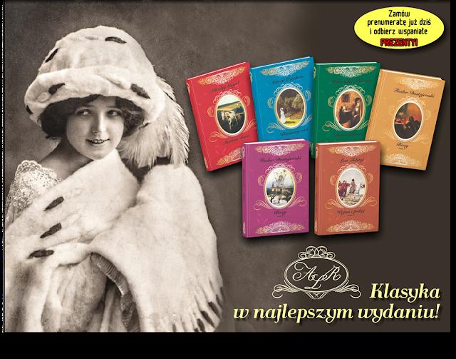 Arcydzieła literatury rosyjskiej - nowa kolekcja Hachette!
