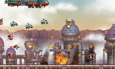 El remake del matamarcianos Steel Empire por fin llega a las 3DS europeas