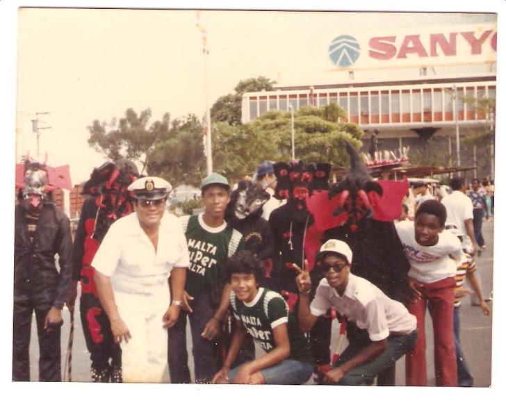 César Rivera - Panamá - Balboa - Año 1985