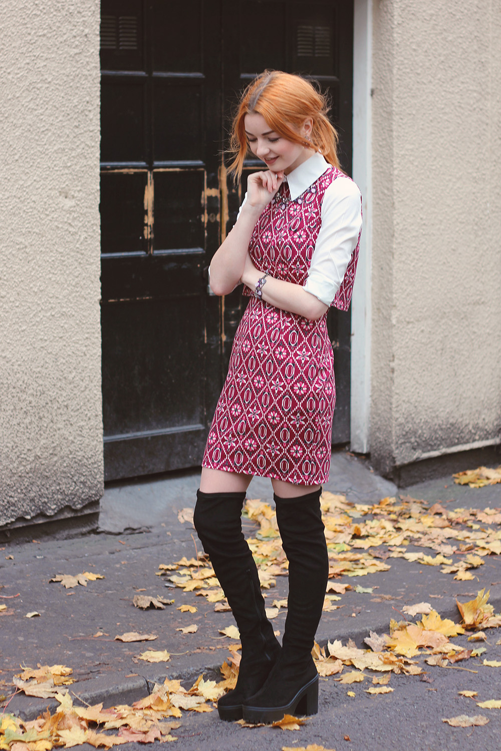60s shift dress