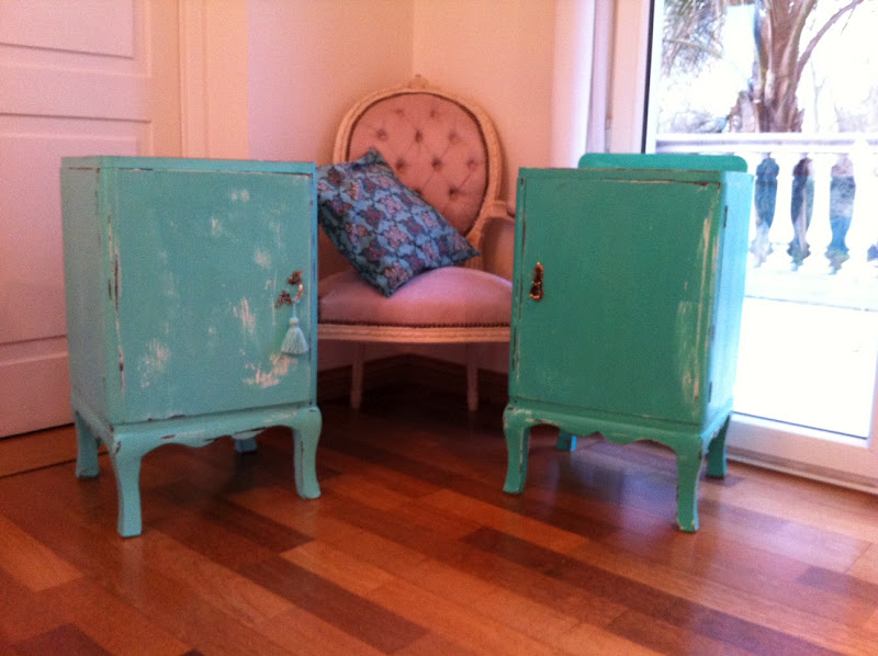 Vintouch muebles reciclados pintados a mano mesas - Muebles pintados a mano fotos ...