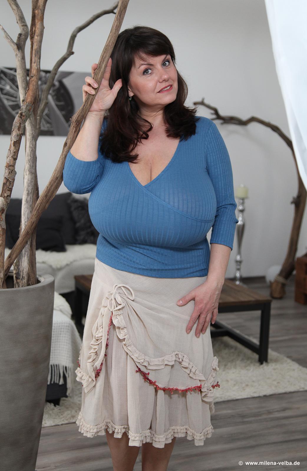 Udderly Amazing: Milena Velba - Blue Monday