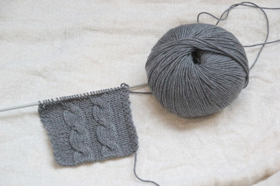 Curso para aprender a hacer punto: cómo hacer ochos o trenzas en tejidos de lana