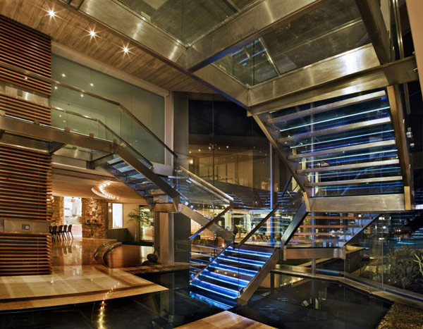 Interior of luxurious-homes