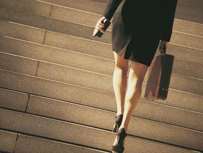 Sube escaleras mejor que el ascensor