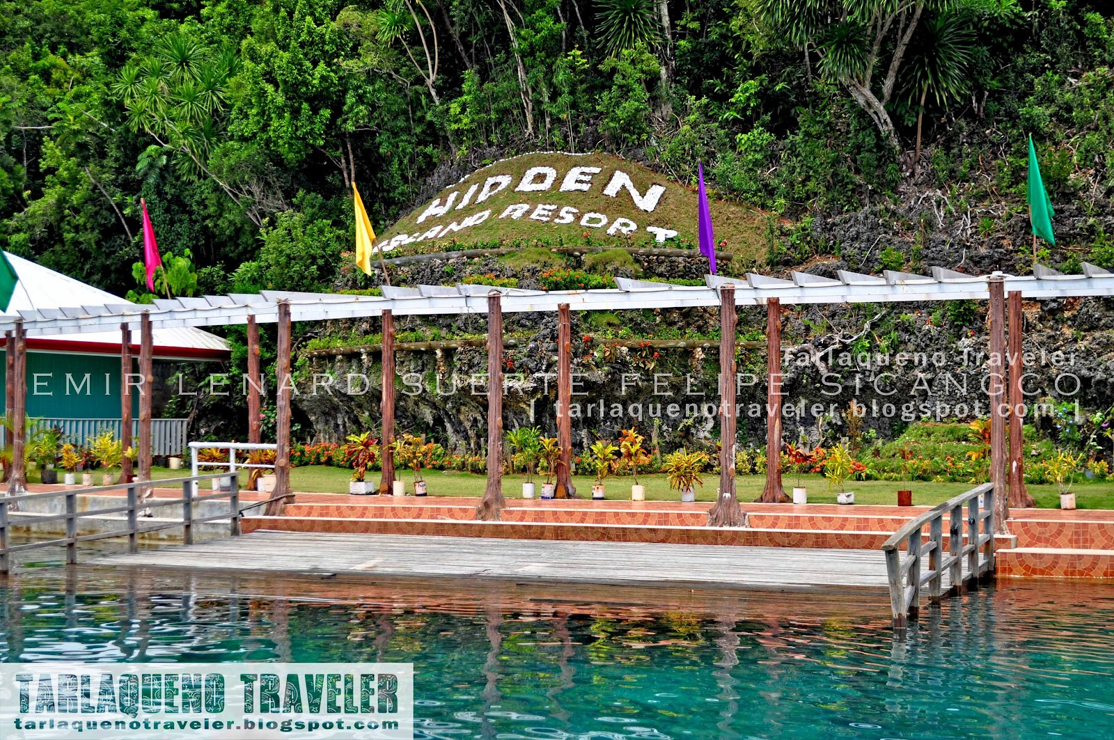 Hidden Island Resort Welcome Signage