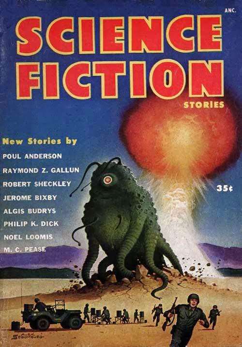 Science Fiction Stories - 1953 Magazine Cover
