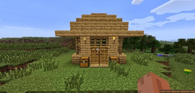 Insta house mod para minecraft 1 mods para for Como hacer muebles en minecraft