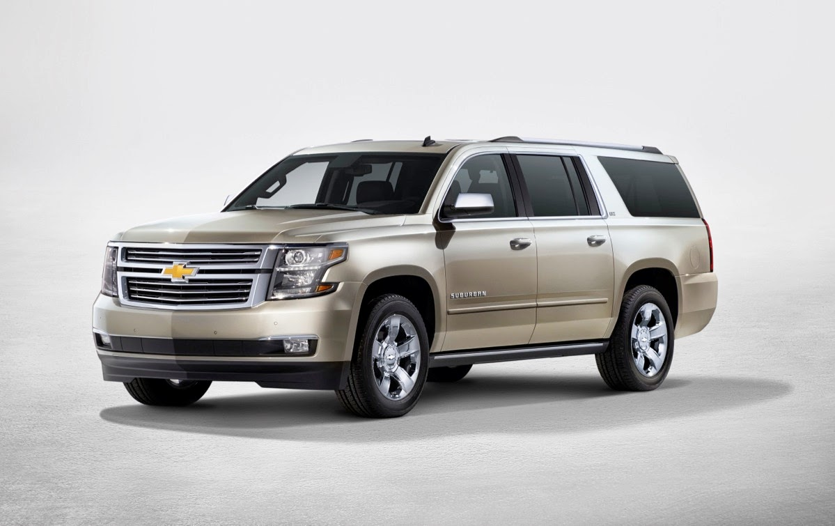 Chevrolet Suburban & Chevrolet Tahoe Technical Specifications