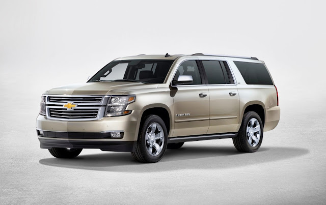 2015 GMC Yukon, Chevrolet Tahoe and Chevrolet Suburban: New Versions