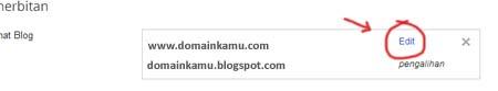 cara merubah domain blogspot menjadi dot com