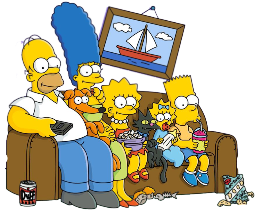Mundo png simpsons for Simpsons wallpaper for bedroom