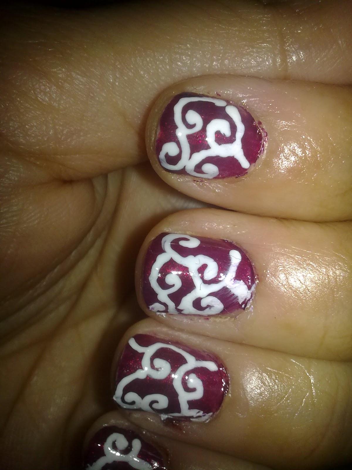 Love For Nail Art Swirls Nailart