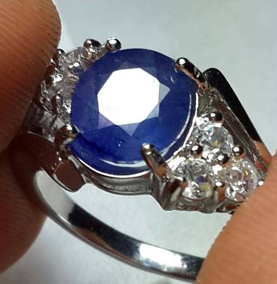 Batu Natural Blue Safir Special For Ladies