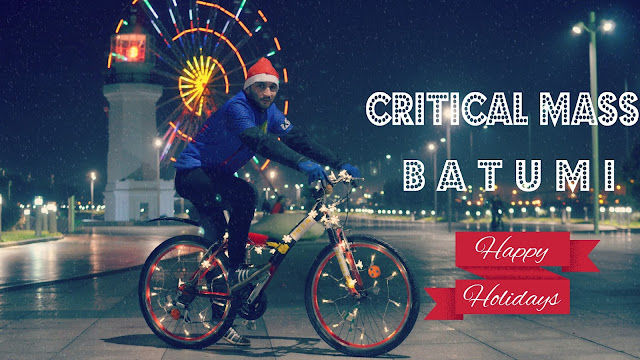 Critical Mass Batumi. Happy Holidays