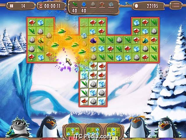 Yeti Quest Crazy Penguins pc