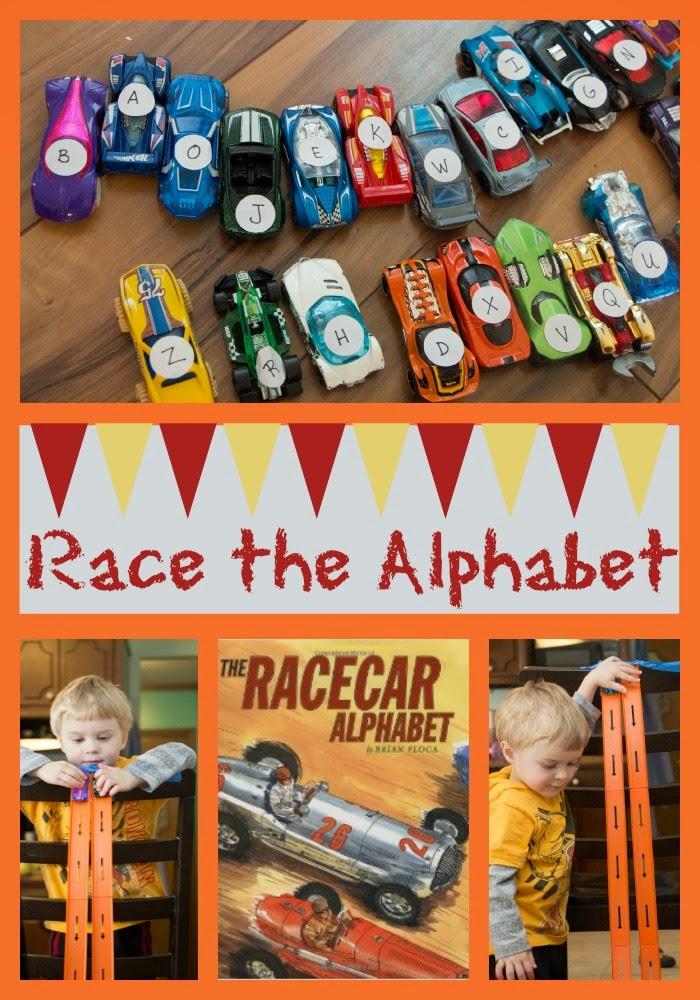 http://lifewithmoorebabies.blogspot.com/2014/04/poppins-book-nook-racecar-alphabet.html