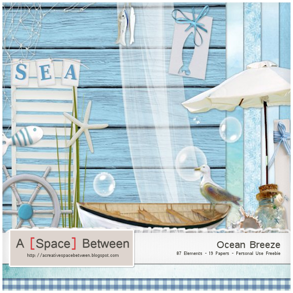 Scrapkit: Ocean Breeze