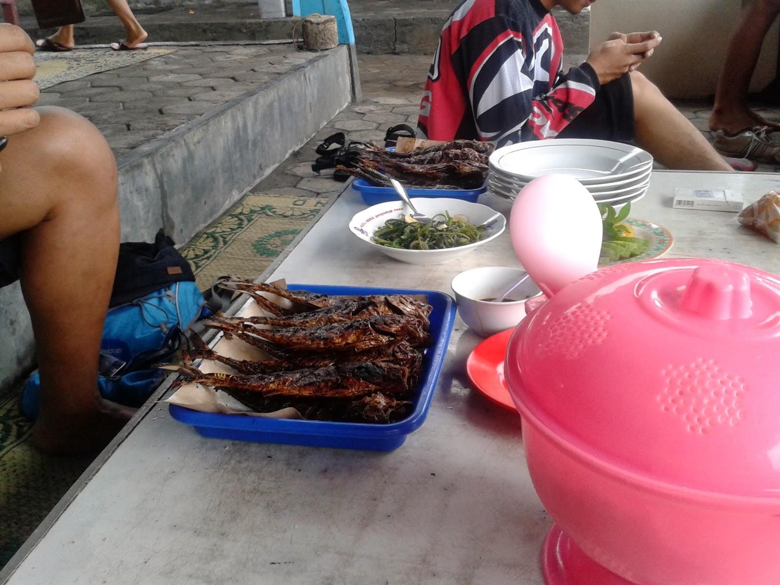 Ikan cakalang siap dimakan