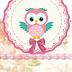 Pink Owl: Free Printable Original Nuggets or Gum Wrappers.