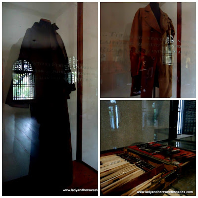 about Rizal at fort Santiago