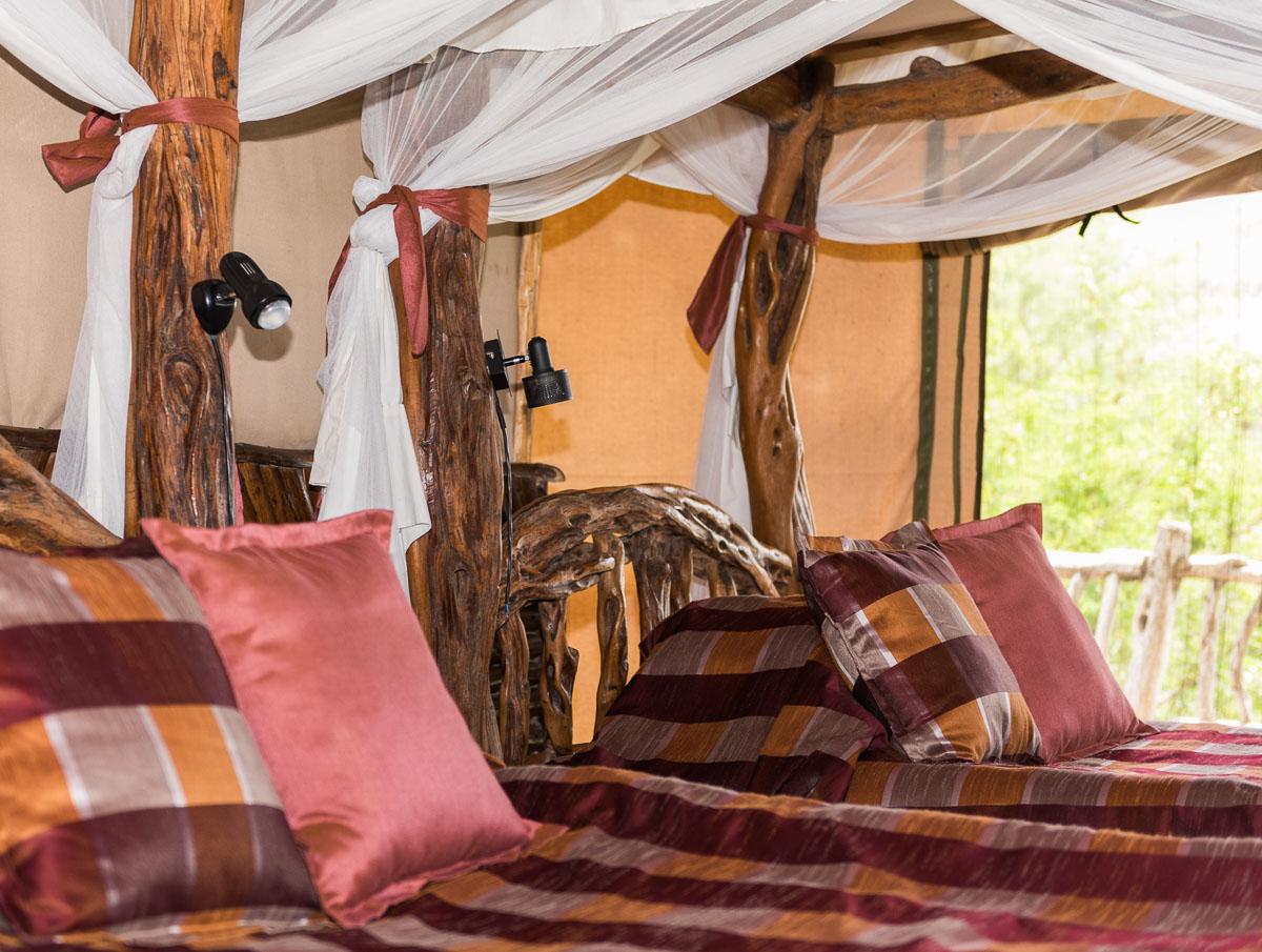 Lions Bluff Lodge, Kenya,