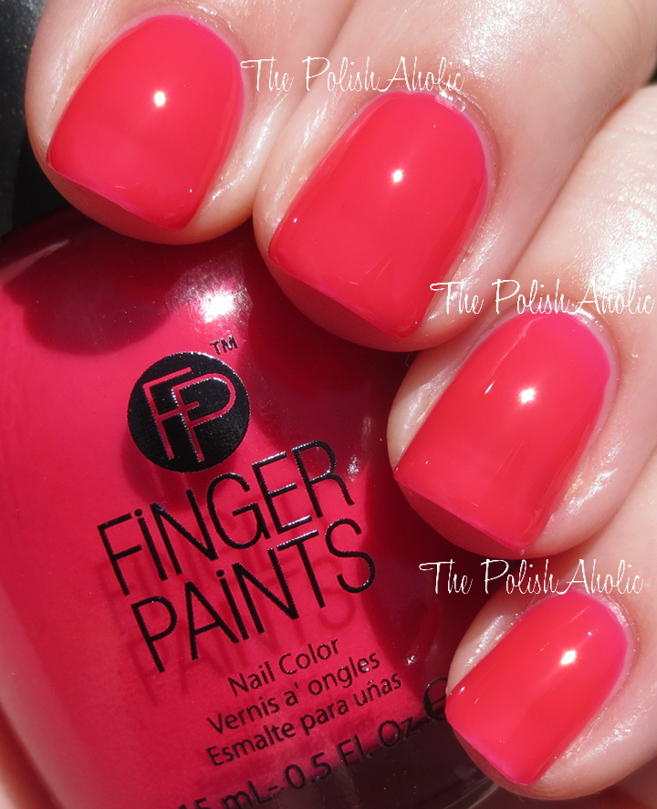 The PolishAholic: Finger Paints Pop Movement Collection Swatches ...