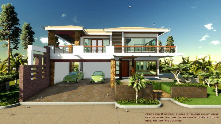 House designs in the philippines in iloilo by erecre group for House plans with pictures of real houses