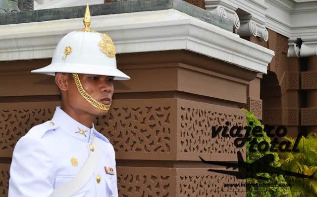 Tailandia Bangkok Guardia Real