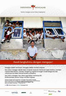 Form pendaftaran: http://indonesiamengajar.org/apply/