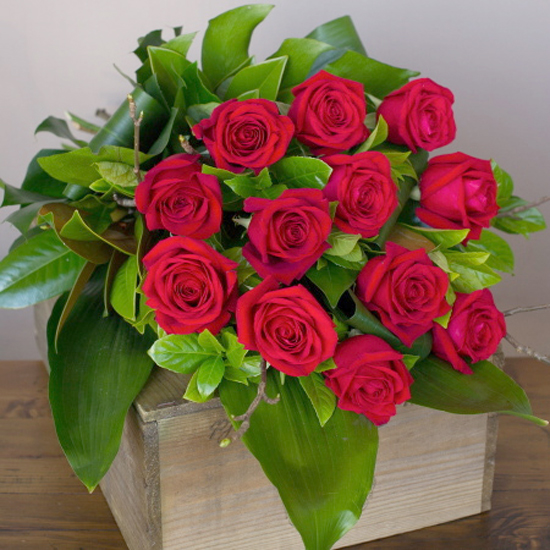 Bouquet of Long Stem Red Roses from floristwithflowers.com.au