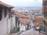 I was in : BOGOTA