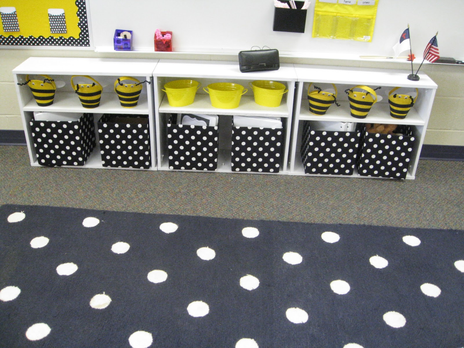 School Day Love Polka Dots And Bees