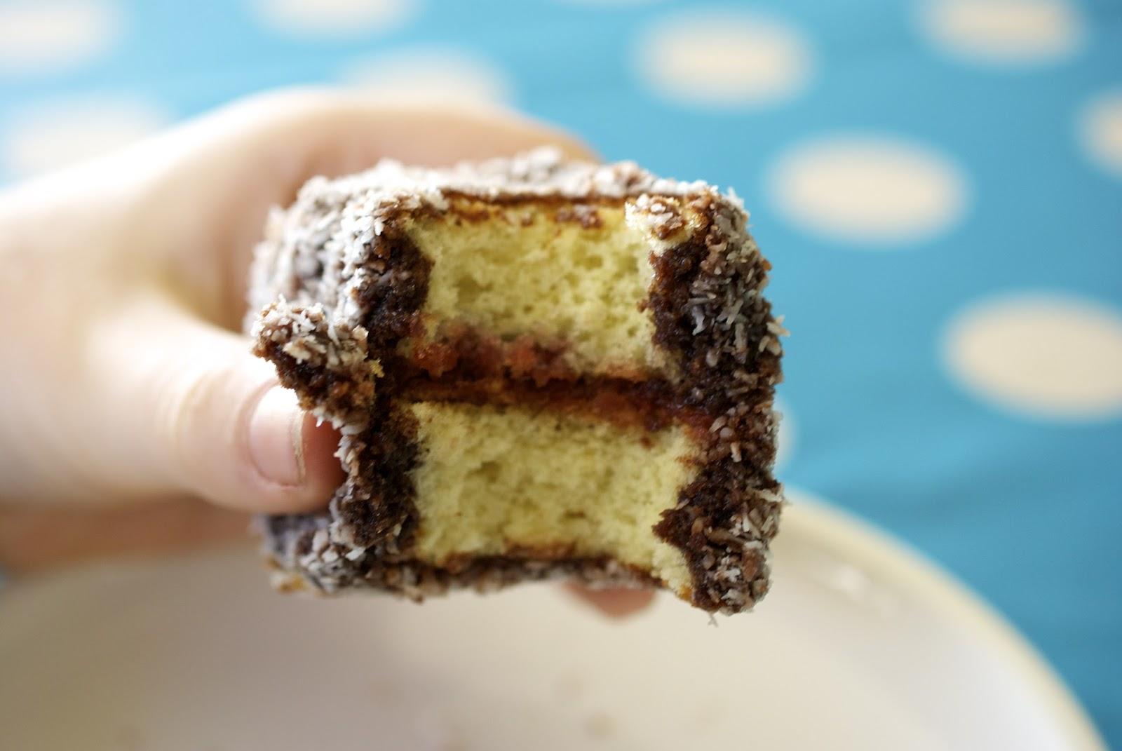 Lamington Coconut Cake Gluten Free