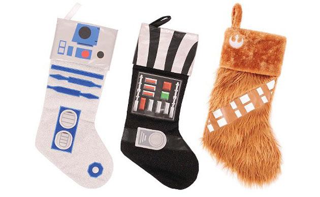 Meias natalinas de Star Wars