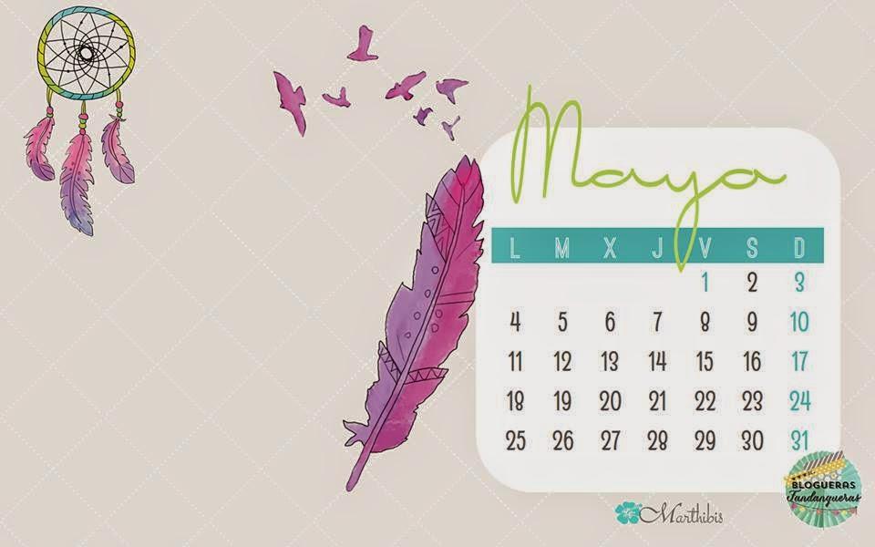 Calendarios Mayo 2015
