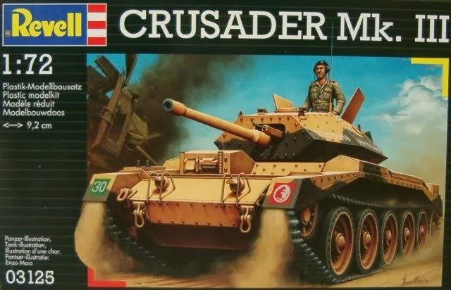 Toy Soldier Chest: Hasegawa Cruiser Tank Crusader Mk III 1:72 Revell ...