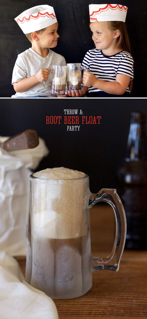 DIY - Root Beer Float Party Hat!