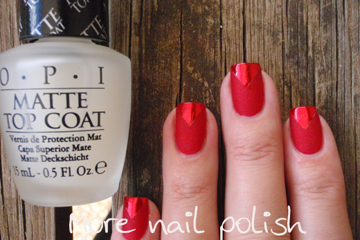 Both Essie Matte About You And